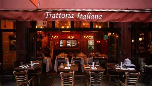 Una trattoria italiana a New York