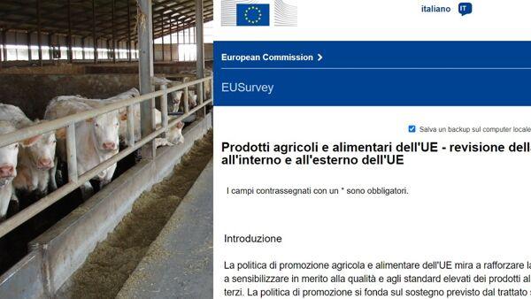 """""""No al questionario vegano"""", gli allevatori italiani contro il sondaggio Ue"""